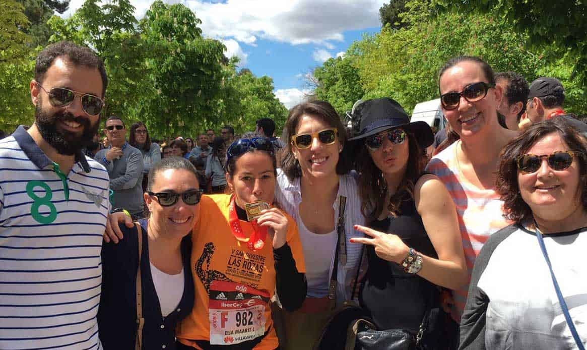 Maraton Madrid Rocío-Ávila deportistas